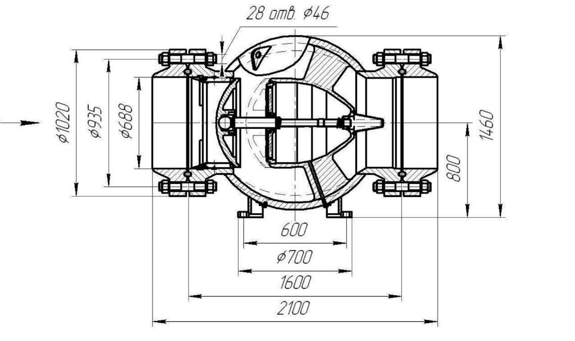 Клапан обратный ЦКБ К 41503-700-01