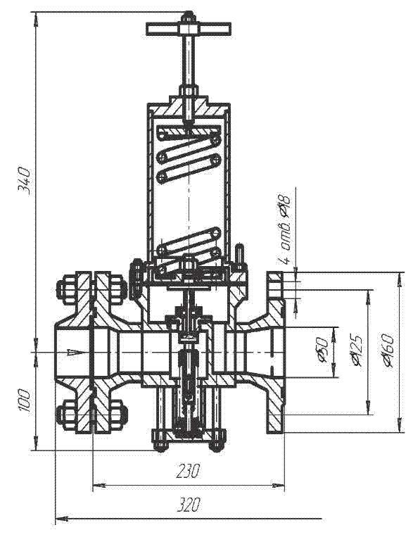 Регулятор давления Р63063