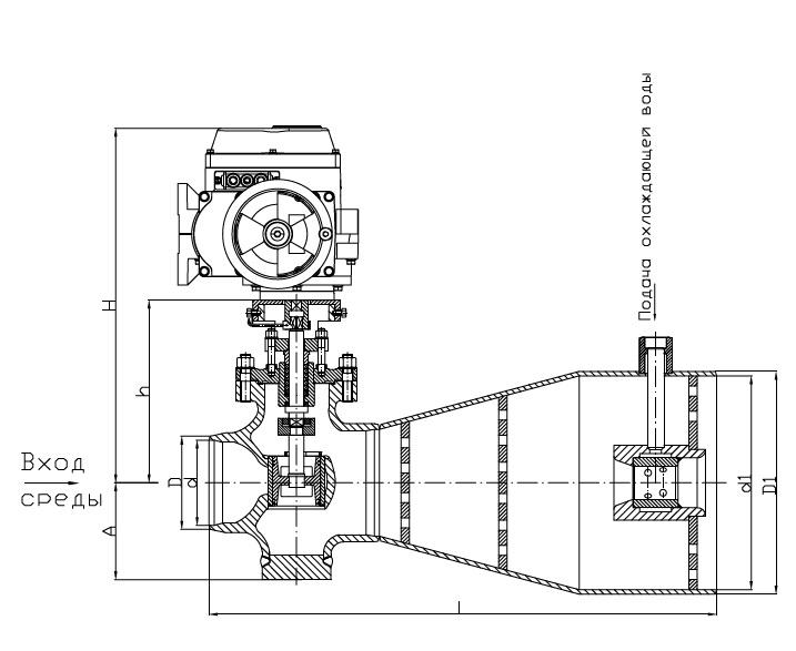 Клапан РК 111Р.300.00-Э