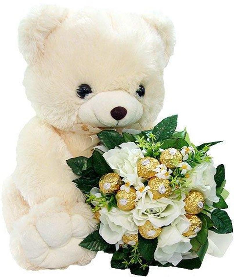 Надписью, открытка медвежонок с розой